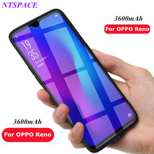 Portable Power Bank case For OPPO Reno Battery Charger Cover 3600mAh External Backup Power Case For OPPO Reno Charger Cases