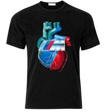 T-Shirt Herz Fan M3 M4 M5 M6 I8 F10 E60 E90 E30 Z4 Z3 T-Shirt T Shirt S-Xxl Adults Casual Tee Shirt