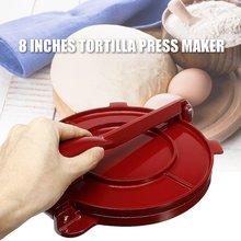 Gadgets Press-Maker Tortilla Aluminum Ce 8-Inches Pie-Tools Bakeware Corn-Baking-Tool