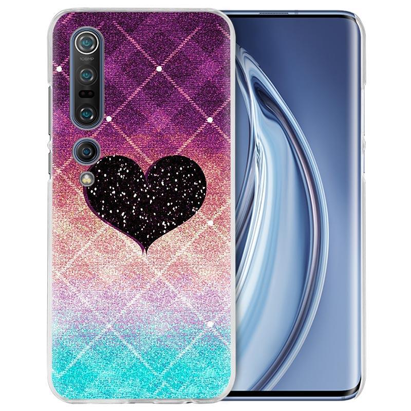 Glitter Love Case For Xiaomi Mi Note 10 Pro 9T 9 CC9 A3 A2 8 Lite 6X 10Youth 5G Poco X2 F1 F2pro Hard Coque Fall