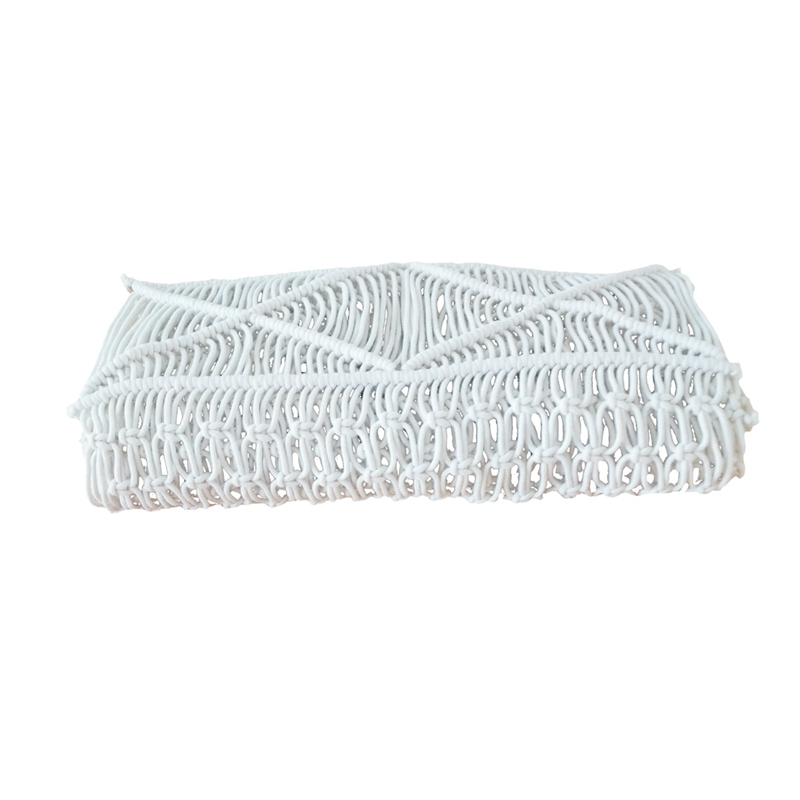 Bohemia Handmade Natural Macrame Table Runner Rustic Home Decor Kitchen Table Wedding Table Décor|Table Runners| |  - title=