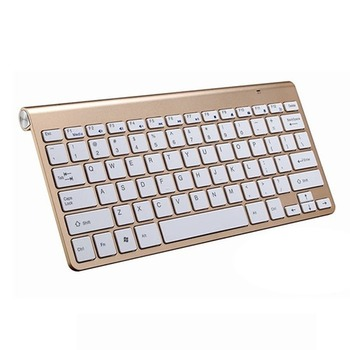 Newest 2.4G Keyboard Mouse Combo Set Multimedia Wireless Keyboard and Mouse For Notebook Laptop MacDesktop PC TV Office Supplies