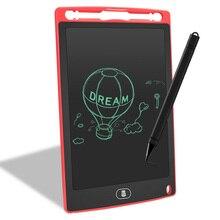 8,5 дюймовый ЖК-планшет для письма, электронная доска для черчения, доска для черчения, планшет для рисования с кнопкой стирания, подарок для детей