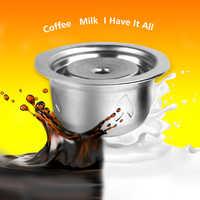 Filtros de café Vip Link para Nespresso Vertuo Vertuoline Plus & Delonghi ENV150 cápsula reutilizable rellenable de acero inoxidable