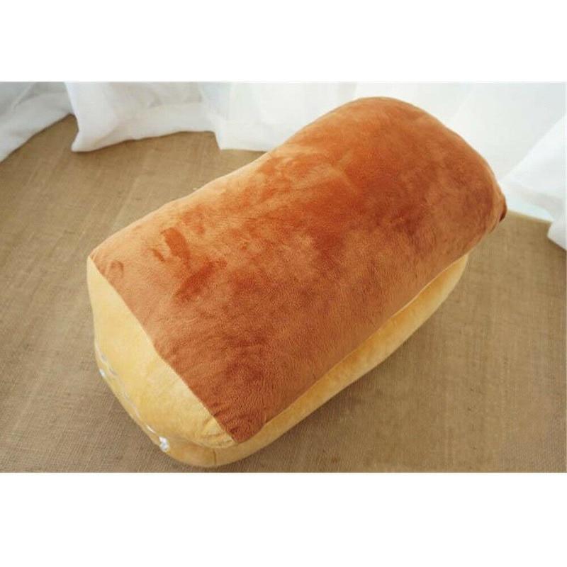 Joli petit déjeuner pain en peluche doux en peluche émulé câlin pain oreiller poupée oreiller en peluche