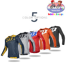 Kids Off Road ATV Racing T-Shirt AM RF Bicycle Cycling Bike fxoDownhill Jersey Motorcycle Jersey Motocross MTB DH MX Ropa D Boys