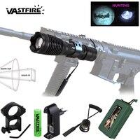 10w IR 940nm Taschenlampe Tactical LED Nachtsicht Zoomable Infrarot Strahlung Fokus Gun Lampe Jagd Taschenlampe + 18650 Batterie + ladegerät-in LED-Taschenlampen aus Licht & Beleuchtung bei