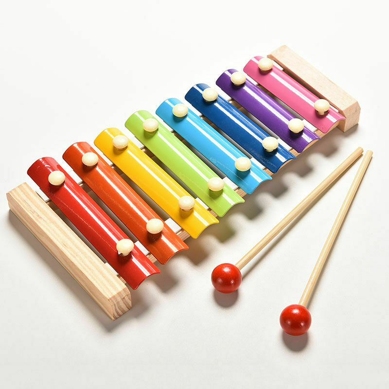 Baby Music Instrument Toy Wooden Xylophone Children Kids Musical Funny Toys For Baby Girls Educational Toys Gifts Baby Xylophone(China)