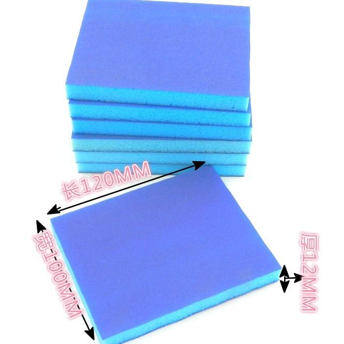 Wholesale Blue Sponge Sanding Block Double-Sided Woodworking Furniture Paint Polishing Sponge Abrasive Paper Sponge Sanding Bloc