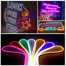 12V LED Strip SMD2835 Colorful Led Neon Light Flexible Waterproof Neon Sign for Home Party Outdoor Festival Decoration Neon Lamp