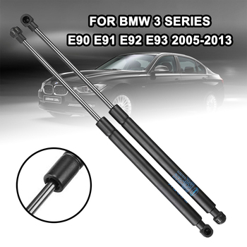 2pcs Car Front Bonnet Hood Lift Gas Shock Struts Bar Car Support Rod For BMW 3 Series E90 E91 E92 E93 2005-2013 image