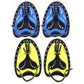 Регулируемые силиконовые перчатки для дайвинга для взрослых, перчатки с плавниками, шлейф для обучения, профессиональное весло для плавани...