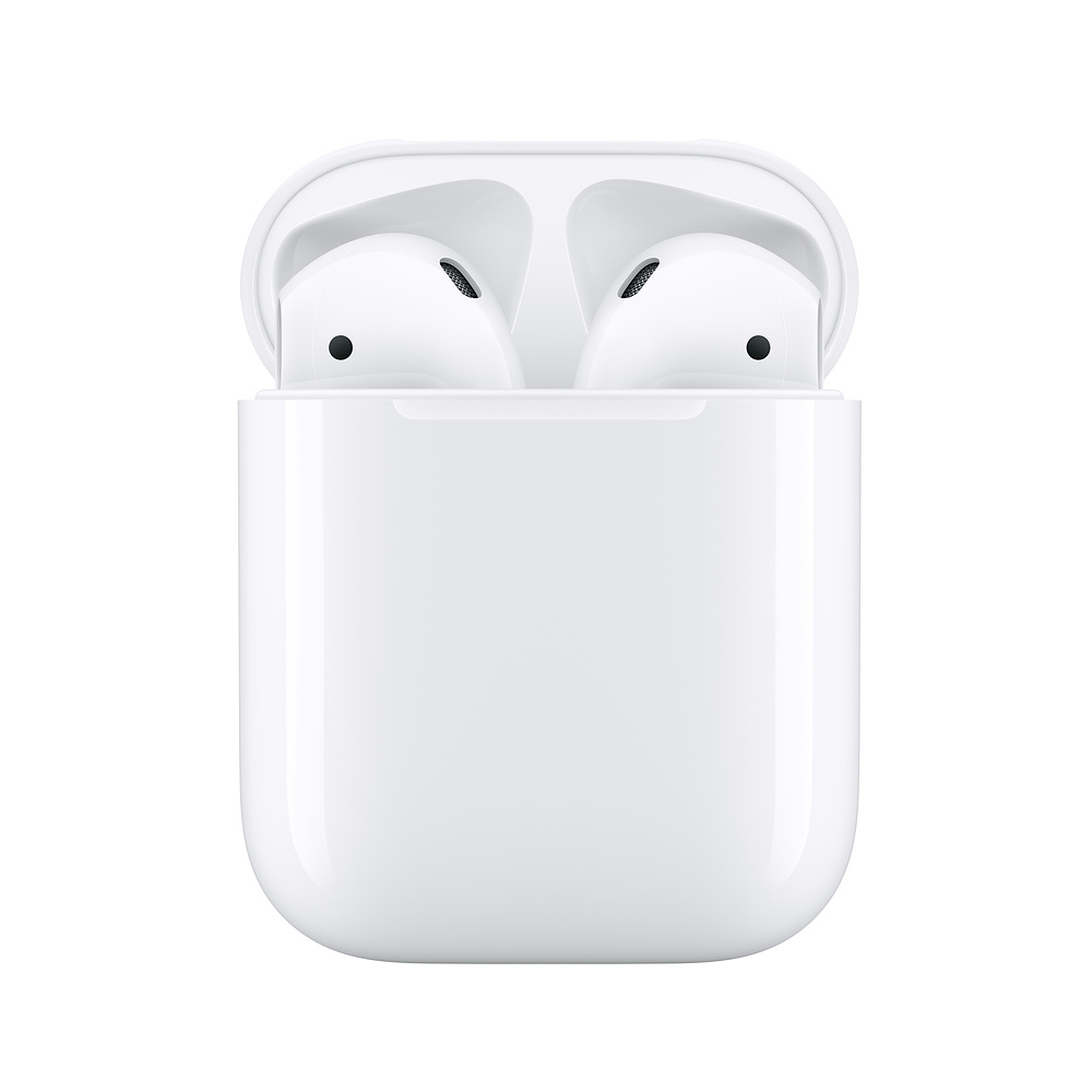 Apple Airpods 2nd With Charging Case Wireless Bluetooth Headphones Stereo Music Earphone For Iphone 7 8 Ipad Mac Watch Bluetooth Earphones Headphones Aliexpress