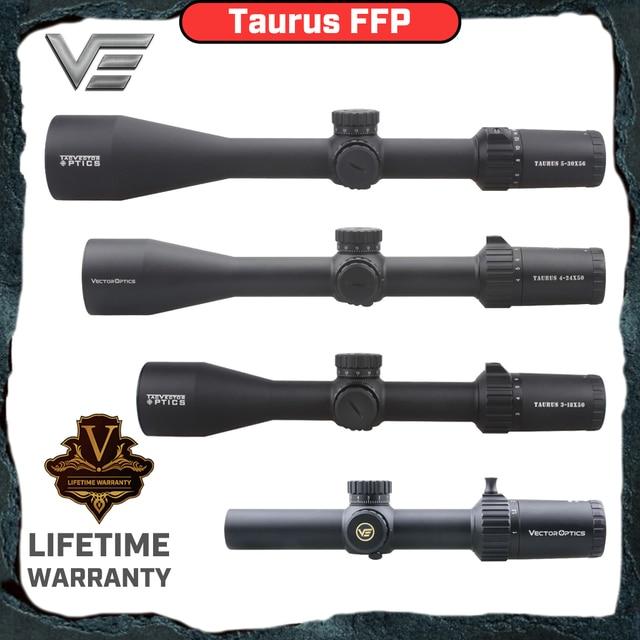 ベクトル光学牡牛座 1 6x24 3 18x 4 24x 50 ミリメートル 5 30x 56 ミリメートルffp戦術精密ライフル銃高品質長距離狩猟スコープ