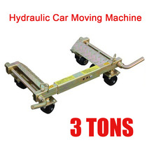 3T Hydraulic Car Moving Machine Max Moving Universal Wheel Car Mover Hydraulic Trailer Vehicle Mobile Device