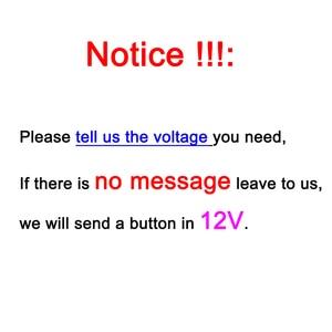 Image 5 - Símbolos de personalização de 19mm, metal, latão, rodio, plataforma, botão de interruptor, lâmpada redonda, latão, luz momentânea para fãs carro carro