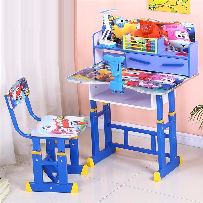Infantiles Mesa Y Silla Infantil Tavolino Bambini Stolik Dla Dzieci Pour Adjustable Bureau Kinder For Enfant Kids Study Table