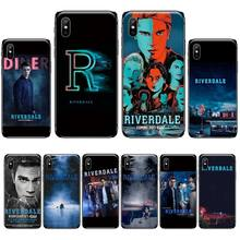 American TV Riverdale Series Soft black Phone Case For iphone 4 4s 5 5s 5c se 6 6s 7 8 plus x xs xr 11 pro max nand pro box ip nand pro for iphone 4 4s 5 5c 5s 6 6p supported for ipad 2 3 4 5 6 supported