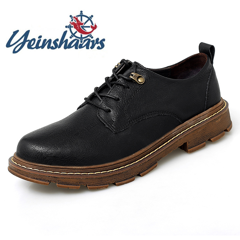 Mens Shoes Formal Shoes Designers Casual Leather Oxford Tooling Outdoor Shoes Classic Business Bureau Shoes Zapatos Para Hombre image