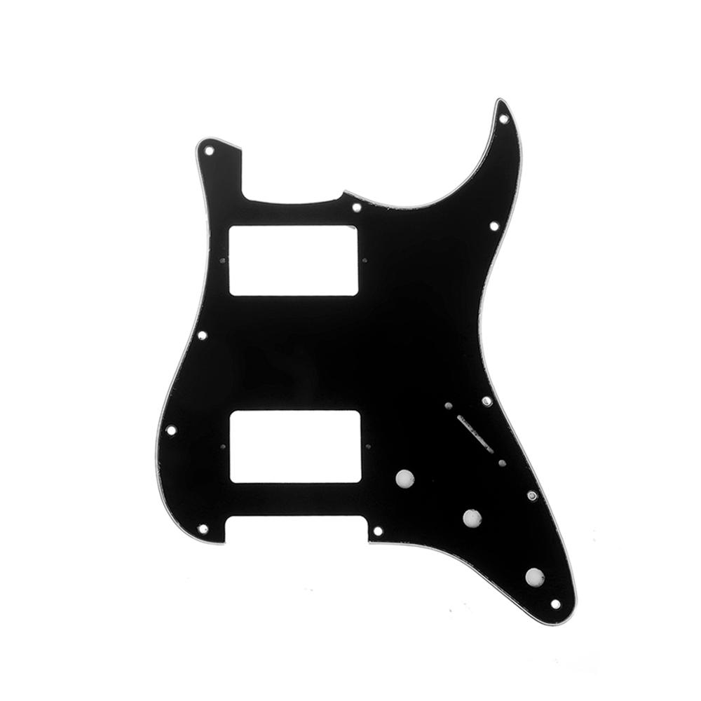 Musiclily Pro 13 Agujeros Estilo Contempor/áneo P Bass Pickguard Golpeador para Fender Bajo Precision Bass American de 5 Cuerdas,4 capas White Pearl