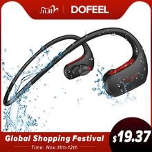 Dacom fone de ouvido l05 esportivo bluetooth, fone auricular wireless e à prova d água ipx7, headset com faixa do pescoço, para celular k6h pro bt5.0