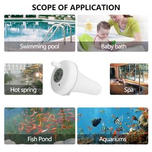Image 3 - Inkbird Bluetooth Floating Pool Thermometer, Indoor & Outdoor Floating Thermometer for Swimming Pool, Bath Water, Spas, Aquarium