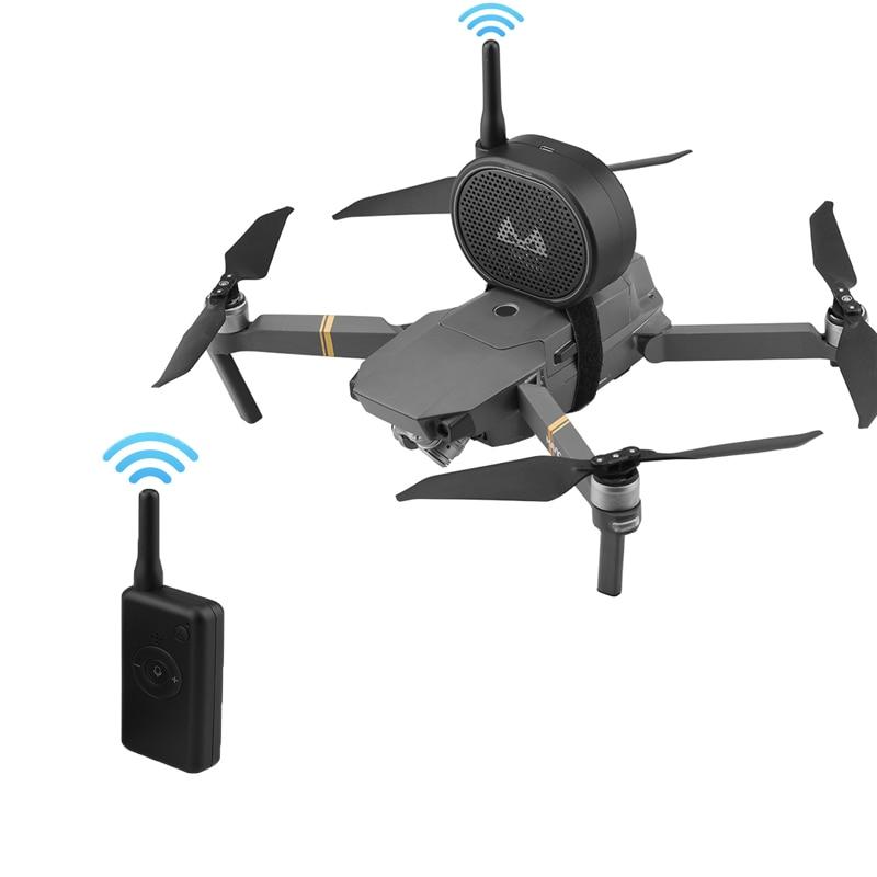 Alto-falante sem Fio Megafone para Dji Remoto Chamando Mavic Mini 2 Pro Zoom ar Drone 1 km Voz