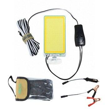 Reflector de emergencia extraíble de campamento 20W LED proyector conector USB COB doble color base magnética Lámpara de trabajo recargable