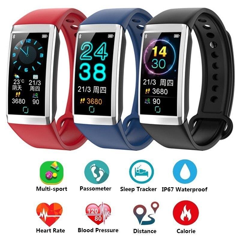 GIMTO 4 Inteligente Banda Mulheres Relógios de Pressão Arterial Monitor de Freqüência Cardíaca Esportes Atividade Rastreador Inteligente Pulseira Homens Pulseira Inteligente