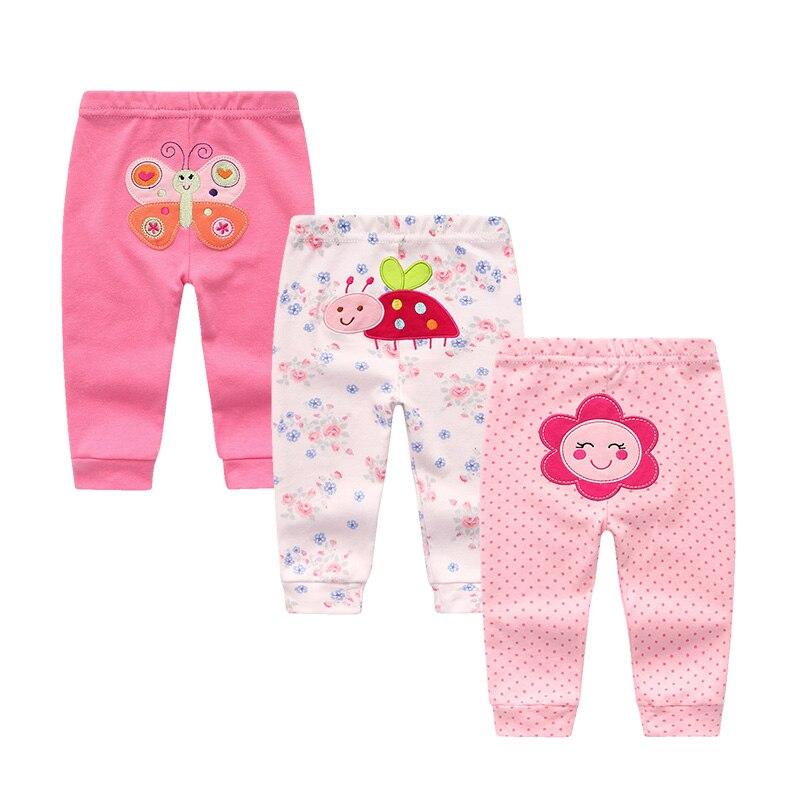 Printing Baby Boys Girls Long Pants New Fashion Kids Baby Cartoon Flower Clothes Bottoms Leggings Pants Newborn Trousers
