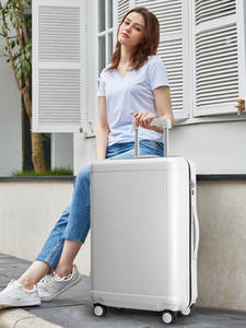 Hanke Trolley Case Spinner-Wheel Rolling-Luggage Designer-Suitcase Travel Women Luxury