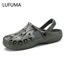 Men Sandals 2020 Crok Adulto Clogs Crocse Crocks shoes EVA Sandalias Summer Beach Shoes Slippers Cho
