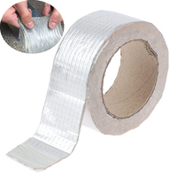 1pc Waterproof Aluminum Foil Adhesive Tape Duct Tape Super Repair Crack Thicken Butyl Waterproof Tape Home Renovation Tools