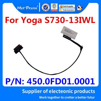 цена на NEW original Laptops LCD LVDS Screen Video Cable For Lenovo Yoga S730-13IWL S730 13IWL LCD CABLEL LS730 450.0FD01.0001