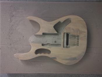 Afanti muzyka DIY gitara zestaw DIY gitara elektryczna ciała (MW-3-342) tanie i dobre opinie none not sure Nauka w domu Do profesjonalnych wykonań Beginner Unisex CN (pochodzenie) Drewno z Brazylii Electric guitar