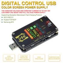 Convertisseur numérique USB CC, tension régulée réglable, Module d'alimentation réglable de bureau, CC CV 0.6-30V 5V 9V 12V 24V 2A 15W