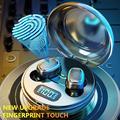 A10 TWS Bluetooth 5,0 Wireless HiFi In-Ohr Kopfhörer mit Digitalen Lade Box Headsets Touch Control Noise Cancelling Hören phon