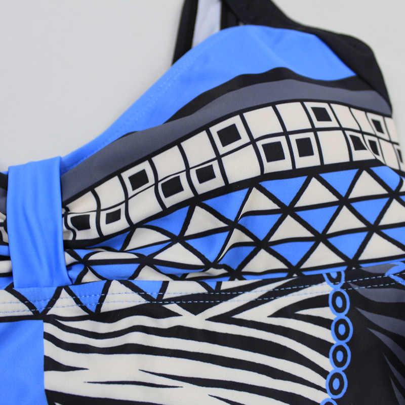 Baju Renang Wanita 2020 One Piece Swimsuit Push Up Seksi Baju Renang Wanita Berenang untuk Pantai Monokini Plus Ukuran Baju Renang 3XL