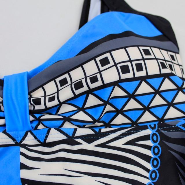 Swimwear Women 2019 One Piece Swimsuit Push Up Sexy Bathing Suit Women Swimming for Beach Wear Monokini Plus Size Swimwear 3XL 10