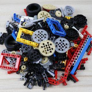 Image 5 - Technic bloques de construcción a granel, 250g, estante con ruedas, accesorio de coche MOC, Conector de Pin, juguetes compatibles con Lego