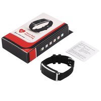 0.66 inch Light Weight Touch Oled Smart Bracelet Bluetooth 4.0 Pedometer Tracking Calorie Health Wristband Sleep Monitor