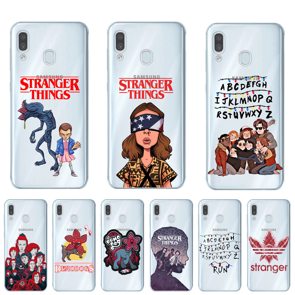 Stranger things season 3 2019 Phone Case For Coque Samsung Galaxy A10 A20 A30 A40 A50 A70 A7 A9 A6 A8 Plus 2018 Soft TPU Cover image