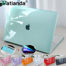 Crystal Transparent Hard Case Protect For Macbook Air Retina Pro 13 15 16 Touch Bar A2251 A2289A2159 A1706 New AIR 13 2020 A1932