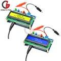 LC100-A 1602 ЖК-цифровой L/C инструмент для измерения емкости и индуктивности Autoranging конденсатор индуктор тестер 1pF-100mF 1uH-100H