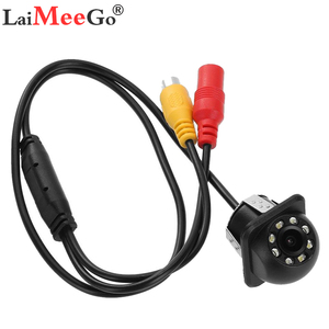 Image 1 - NEW High definition Car Rear View Camera 8 LED Night Vision Reversing Auto Parking Monitor CCD Waterproof 170 Degree HD Video