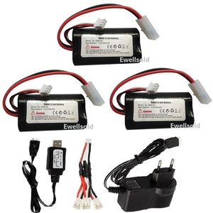 HL 18650-2S 7.4v 1800mah li-ion battery/charger for henglong 3818 3819 3838 3839 3889 3888 3909 3918 3938 1/16 RC tank parts
