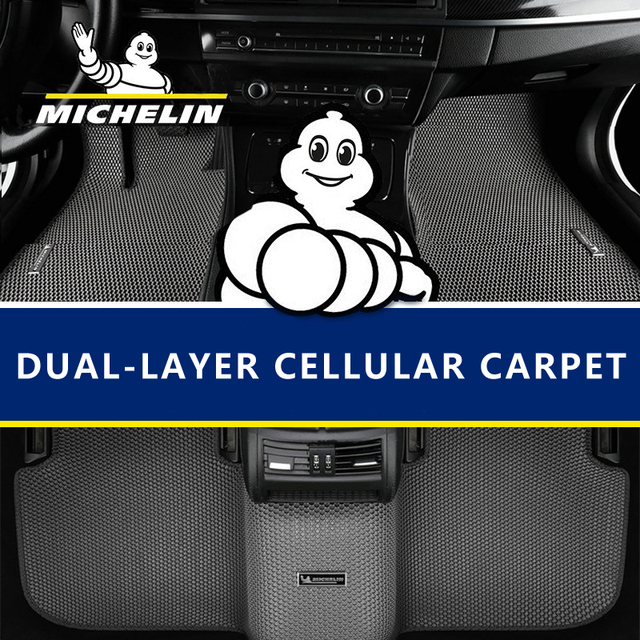 Honeycomb dual double layer Design Car Floor Mat Hides Dirt EVA carpet for VW Golf Polo Beetle CC Magotan Passat Tiguan Touran