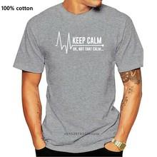 Mantenha a calma ok não que as enfermeiras calmas enfermagem t-shirts soltos dos homens t homme t personalidade de alta qualidade