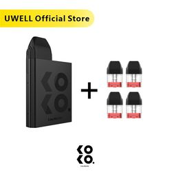 Имеются на складе! UWELL calibung KOKO Pod система и 1 упаковка 1,2 Ом 2 мл многоразовый Pod картридж Топ-заполнение Vape Pod система