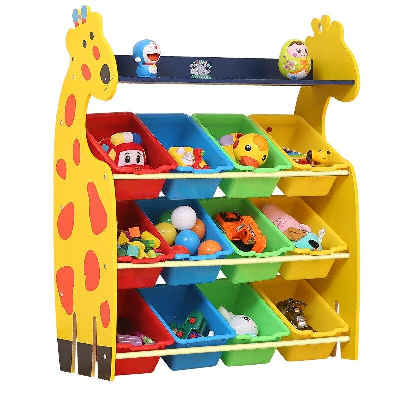 giraffe toy storage rack